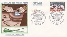 FRANCE 1966 FDC JOURNEE DU TIMBRE YT 1477