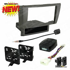 95-8160G Car Stereo Double-DIN Radio Install Dash Kit w/ Amp Turn-On Interface