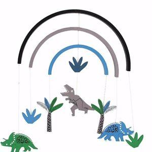 Gisela Graham Hanging Dinosaur Mobile Wooden