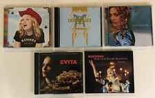 LOT5 CDS~MADONNA~RAY OF LIGHT~IMMACULATE COLLECTION~ARGENTINA~EVITA~SOUNTRACK