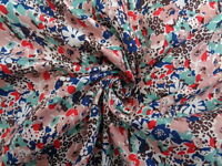 Liberty Cotton/Silk, 'Little Venice', (per metre) dress fabric