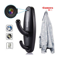 Spy Camera Motion Detection Hidden Clothes Hook DVR Nanny Babysitting'Video  IY