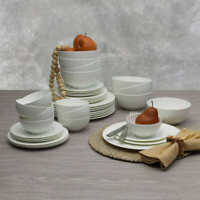 Mikasa Dinnerware Set Lattice 38 of 40-Piece Set- White #31 (1213)