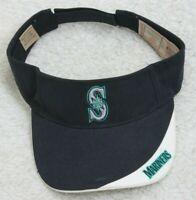 Seattle Mariners Blue Visor Hat Cap Strapback 1 Size Fits All Adult Adjustable