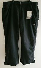 NWT Arctix Men's Insulated Snow Pants Water & Wind Resistance Black Size 4XL