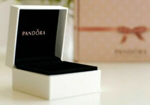 Pandora Gift Box Packaging Jewelry Earrings or Ring Box Original Med Brand New