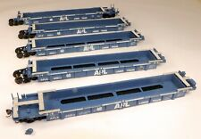 Walthers #932-3977 305' Thrall 5-Unit Well Set APL Liner #6001 1/87 HO Scale