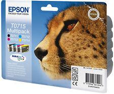 >> Epson original t0715 cartuchos para impresora envase múltiple >>
