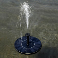 New Floating Solar Powered Garden Water Pump Fountain Pond For Bird Bath Tank