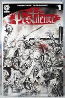 💥 PESTILENCE #1 MIKE ROOTH COMIC MINT BLOOD SPLASH SKETCH VARIANT NM LTD 200