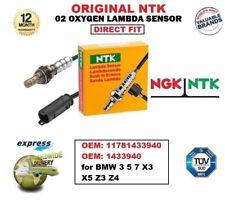 NTK O2 OXYGEN LAMBDA SENSOR OE 11781433940 1433940 for BMW 3 5 7 X3 X5 Z3 Z4