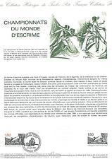 DOCUMENT PHILATÉLIQUE - YT 2147 - 1er JOUR 1981