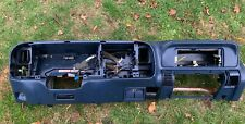 💎95-99 Chevy Gmc Trucks Dashboard Dash Core Frame Mount w/ Storage Blue
