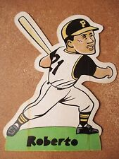 1975 Laughlin RARE Stand-Up Roberto Clemente Pittsburgh Pirates 8.5x10.5