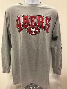 Vtg Champion San Francisco 49ers NFL football Long Sleeve Men MEDIUM T-shirt NEW