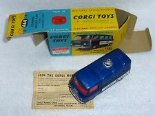 CORGI 464 COMMER POLICE VAN. VERY NEAR MINT EXAMPLE IN GREAT BOX.