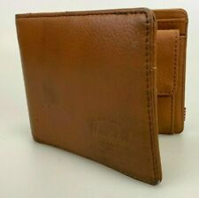 Herschel Leather Wallet Brown Bifold Coin Credit