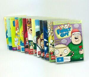 Family Guy Season 1-12 and Happy Freakin Christmas DVD Region 4