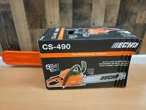 NEW Echo Chainsaw 2-Stroke Cycle 50.2cc Gas Engine Rear Wrap Handle Brake CS-490