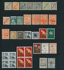 China/Macau. Selection of MINT NEVER HINGED stamps - 4 SCANS