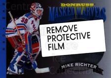 1994-95 Donruss Masked Marvels #8 Mike Richter