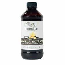 (2) BOTTLES Rodelle Pure Vanilla Extract 8 oz, Free Shipping