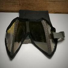 Original WW2 Afrikakorps - Lunettes anti poussière sable soldat allemand + étui