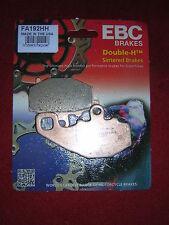 Kawasaki ZX6RR (ZX600 ) 2003-2005 EBC FA192 HH Rear Sintered Brake Pads. New