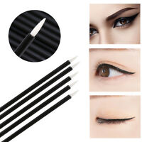100Pcs Disposable Eye Liner Eyeliner Liquid Brushes Wand Makeup Applicator Eager