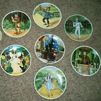 Lot of 7 Wizard of Oz - Knowles Collector Plates