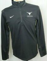 NEW Texas University Longhorns Nike Dri-Fit Grey 1/4 Zip Pullover Men's L
