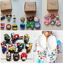 Crocs Shoes Decorative Charms 6 Pieces Set in Box for Kids, Adults