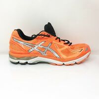 Asics Mens GT 2000 3 T500N Orange Running Shoes Lace Up Low Top Low Top Size 13