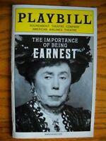 Playbill The Importance of Being Earnest Brian Bedford Santino Fontana Dana Ivey