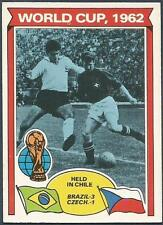 TOPPS 1978 FOOTBALLERS #343-WORLD CUP 1962