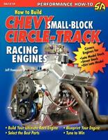 How to Build Chevy Small-Block Circle-Track Racing Engines Book~Tips & Trick~NEW