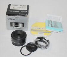 Canon EF-M 22mm f/2 STM Objektiv für EOS-M Passform