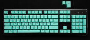 Cyan Keyboard Keycaps