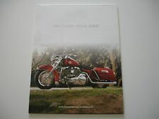 2003 HARLEY DAVIDSON 100TH ROAD KING FLHRI OEM CUSTOM BROCHURE SPEC SHEET