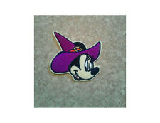 Minnie Mouse - Halloween - Witch - Hag - Iron On Patch - Crafts