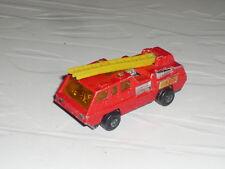 1:64 Matchbox Bomberos Blaze Buster 1:87 Diesel nuevo camión 1970s Superfast