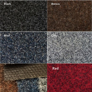 Clearance New Carpets Rib Gel Backed Sheet 4m Wide Commercial Office Gym Carpet