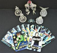 Ben 10 Clear Plastic Big Chill Omnitrix DNAlien Vilgax Cards Cartoon Network