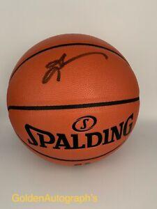 Allen Iverson Autographed Spalding NBA Game Series Basketball (JSA)