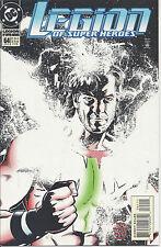 Legion of Super-Heroes #64 (Jan 95) - Brainiac 5, Cosmic Boy, Saturn Girl
