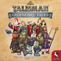 Talisman Legendary Tales Board Game with Bonus DRUID Character  1-6 players NEW