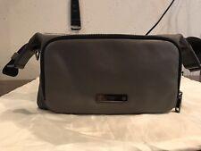 Authentic Coach Thompson Leather City Bag Slate Black/Gray F71359