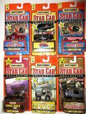 New Matchbox TV Movie Star Car Lot Knight Rider Smokey Bandit Happy Days Mash