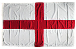 St Georges flag MoD approved sewn england stitched rope toggle woven UK outdoor