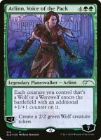 1x Arlinn Voice of the Pack NM - Stained Glass Secret Lair Foil Promo Sealed